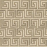 Cole & Son Queens Key Metallic Bronze / Cream Wallpaper - Product code: 98/5021