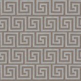 Cole & Son Queens Key Metallic Silver / Charcoal Wallpaper - Product code: 98/5022