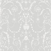Cole & Son Regalia Grey / White Wallpaper - Product code: 98/12050