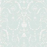 Cole & Son Regalia Pale Blue / Light Stone Wallpaper - Product code: 98/12052