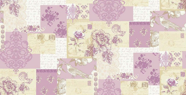 Image of Coloroll Wallpapers Love Letters, M0815