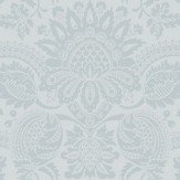 Cole & Son Dukes Damask Pale Blue Wallpaper - Product code: 98/2007
