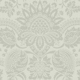 Cole & Son Dukes Damask Green Grey Wallpaper - Product code: 98/2008