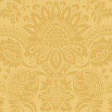 Cole & Son Dukes Damask Mustard Yellow Wallpaper - Product code: 98/2010