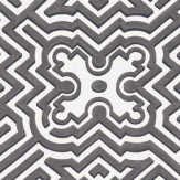 Cole & Son Palace Maze Off White / Charcoal Wallpaper - Product code: 98/14057