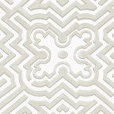 Cole & Son Palace Maze Off White / Stone Wallpaper - Product code: 98/14058