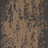 Harlequin Eglomise Onyx Black / Copper Wallpaper - Product code: 110624