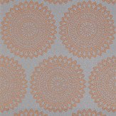 Harlequin Medina Titanium Copper / Grey Wallpaper - Product code: 110628