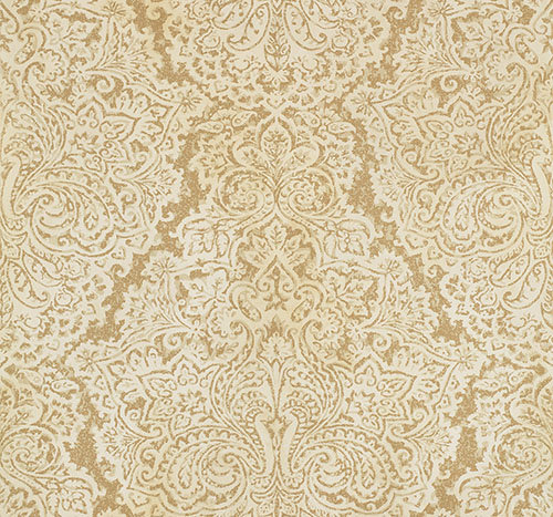 Antique Gold Wallpaper