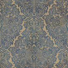 Harlequin Aurelia Sapphire Sapphire / Gold Wallpaper