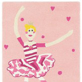 Harlequin Polly Pirouette Rug Pink / Grey