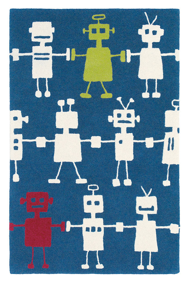 Reggie Robot Small Rug By Harlequin Wallpaper Direct