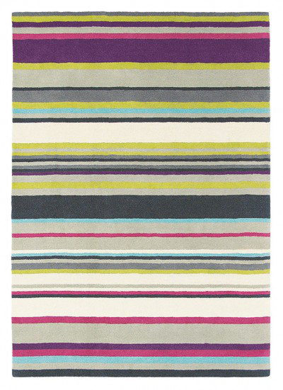 Harlequin Rugs Barcode Plum Large Rug 43702