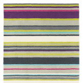 Barcode Plum Small Rug