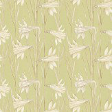 Harlequin Poetica Green Fabric - Product code: 120240