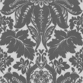 Prestigious Cerata Silver / Grey Wallpaper