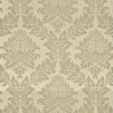 G P & J Baker Lydford Damask Grey Wallpaper