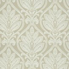 G P & J Baker Ryecote Damask Ivory / Stone Wallpaper