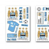 Brewers Manchester City FC Stickers