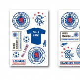Brewers Rangers FC Wall Stickers