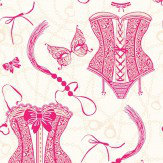 Opus Muras Nicole Sugar Pink Wallpaper
