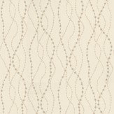 Threads Raindrops Champagne / Cream Wallpaper