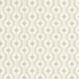 Threads Solstice Duck Egg / Taupe Wallpaper