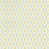 Threads Solstice Lime / Grey Wallpaper