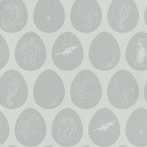 PaperBoy Which Came First Light Blue Wallpaper - Product code: WCF/WP/LIBLU