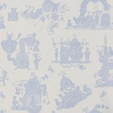 PaperBoy When I Grow Up Blue Wallpaper - Product code: WIGU/WP/BL