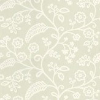 Baker Lifestyle Denbury Ivory / Chalk Wallpaper