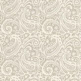 Baker Lifestyle Kinward Ivory / Metallic Silver Wallpaper - Product code: PW78030/3