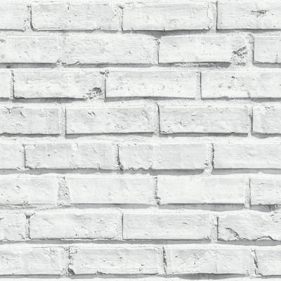 Albany White Brick Wallpaper main image