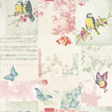 Albany Songbird Multi / Cream Wallpaper