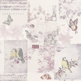 Albany Songbird Lilac / Purple Wallpaper