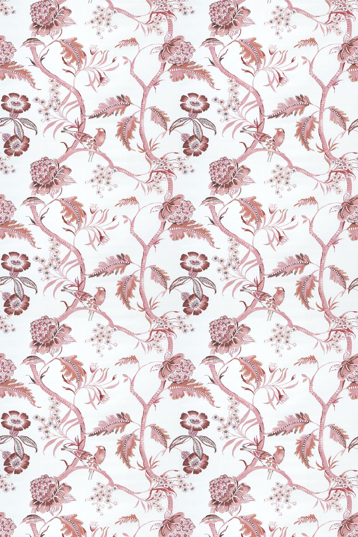 Image of Blendworth Fabric Birdsong, Birdsong/002