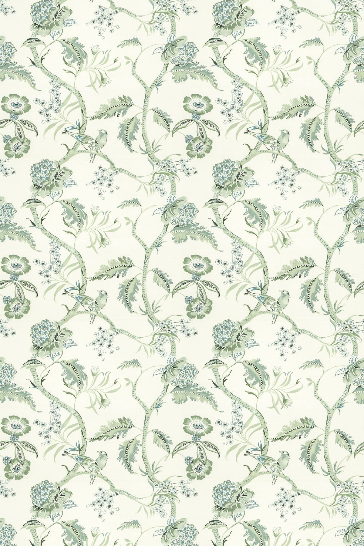 Image of Blendworth Fabric Birdsong, Birdsong/004