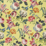Prestigious Country Garden Mimosa Multi / Yellow Fabric