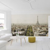 Mr Perswall Paris Skyline Mural