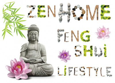 Image of Caselio Stickers Feng Shui, STH6122 10 23