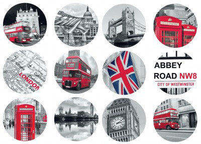 Image of Caselio Stickers Abbey Road, STH6167 51 64