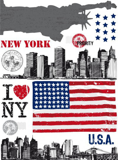 Image of Caselio Stickers Big Apple, STH5980 30 15