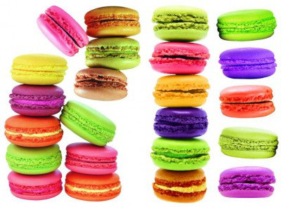 Image of Caselio Stickers Macaroon, STH5822 41 35