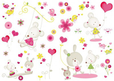 Image of Caselio Stickers Miss Mousse, STH5977 18 25