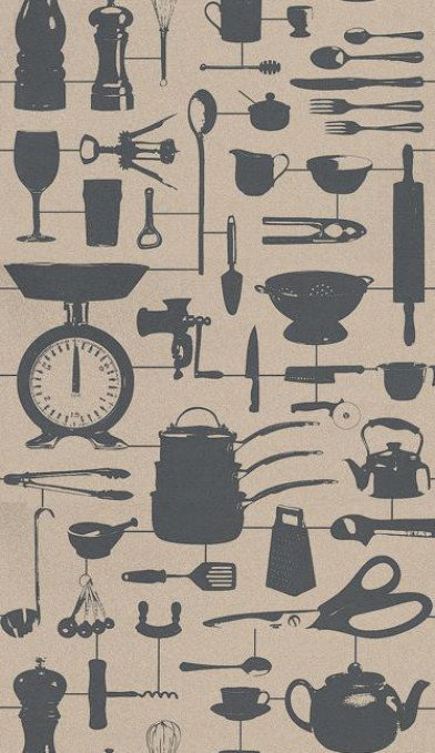 Image of Graduate Collection Wallpapers Airfix Kitchen Taupe, 31088