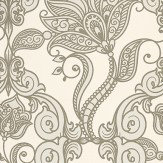 Eijffinger Charm Metallic Gold / Cream Wallpaper