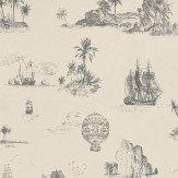 Casadeco Chantilly Toile Wallpaper