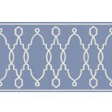 Cole & Son Parterre Border Cobalt Blue - Product code: 99/3014