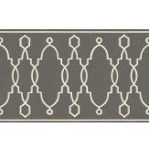 Cole & Son Parterre Border Charcoal - Product code: 99/3015