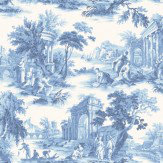Cole & Son Villandry Cobalt Blue Wallpaper - Product code: 99/1001